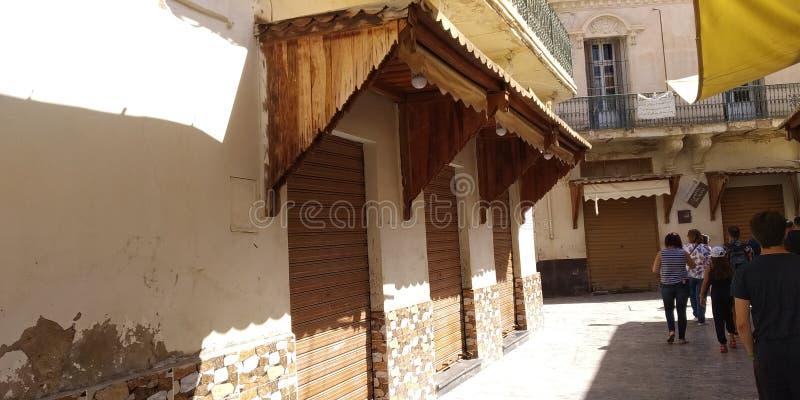 摩洛哥乌伊达街道 库存图片