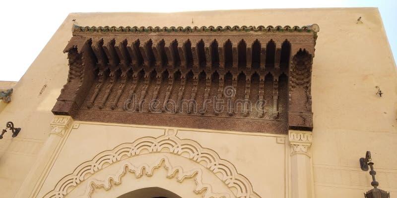 摩洛哥乌伊达顶楼 免版税库存图片