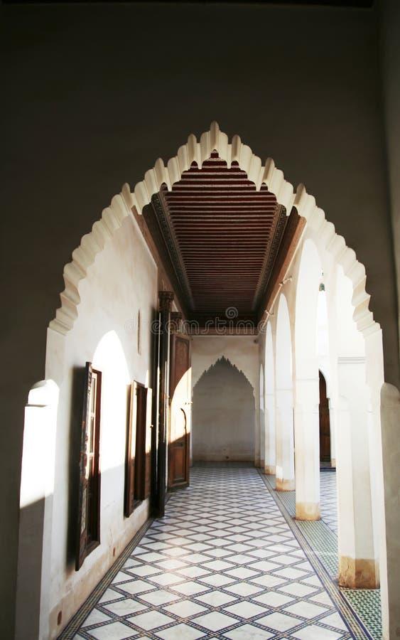 摩洛哥宫殿 免版税库存照片