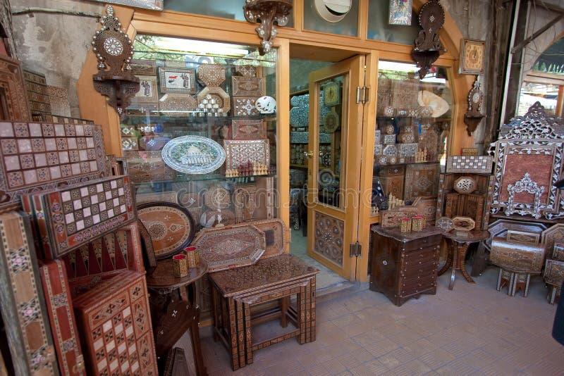 摩洛哥市场,大马士革 库存图片