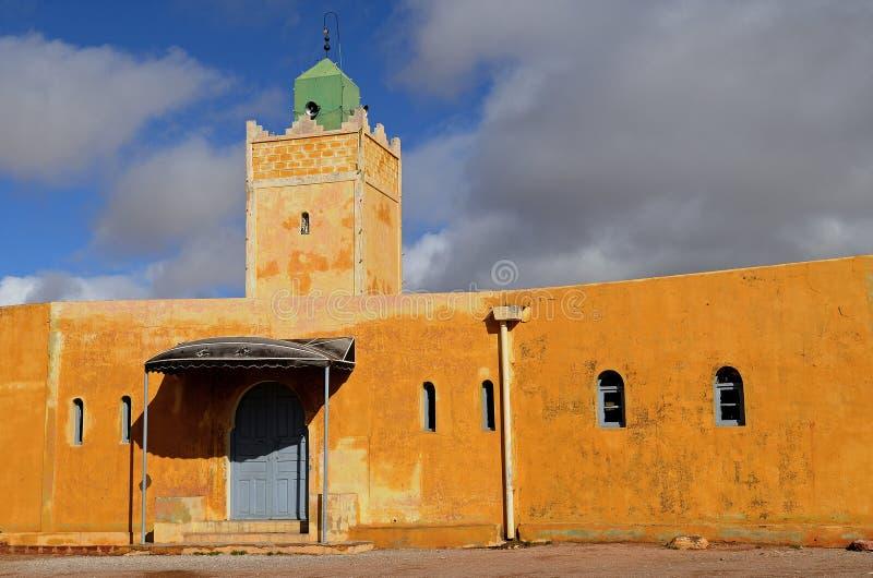 摩洛哥清真寺 库存图片
