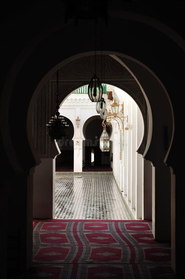 摩洛哥清真寺 免版税库存图片
