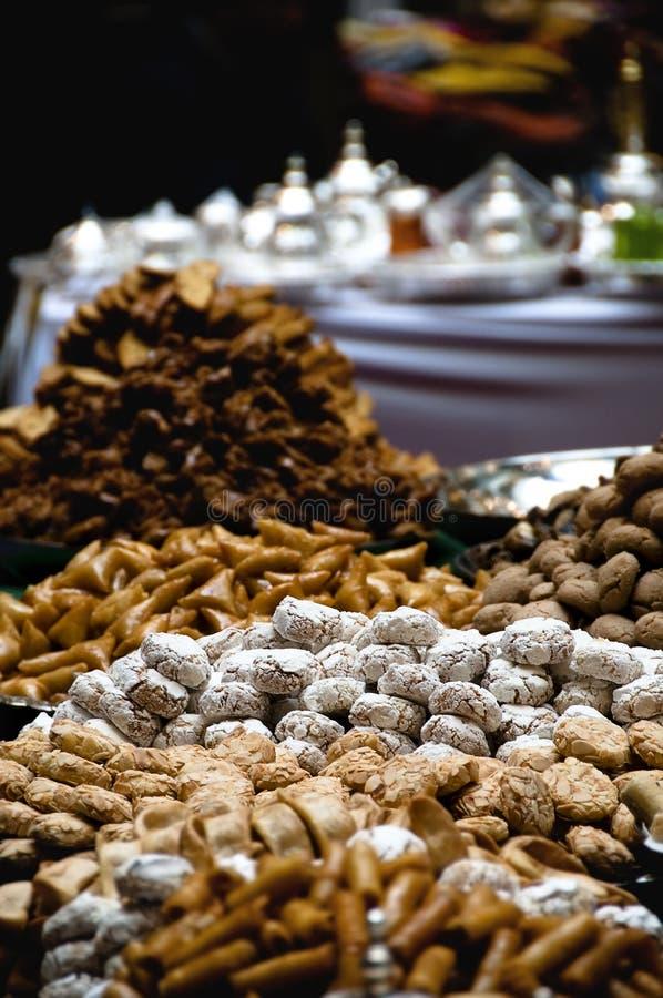 摩洛哥甜点 库存图片
