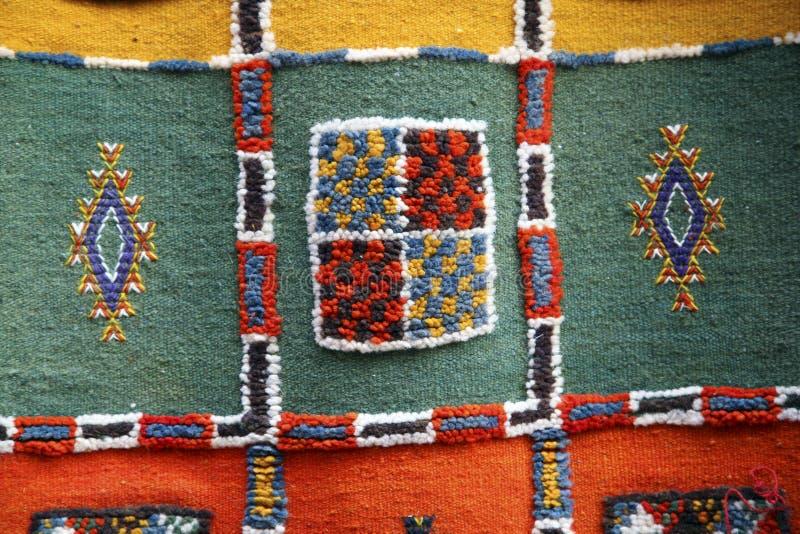 摩洛哥织品 库存照片