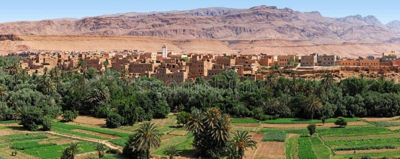 摩洛哥绿洲tinerhir 免版税库存照片