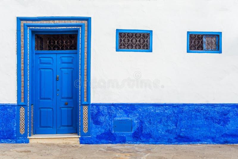 摩洛哥门 免版税图库摄影