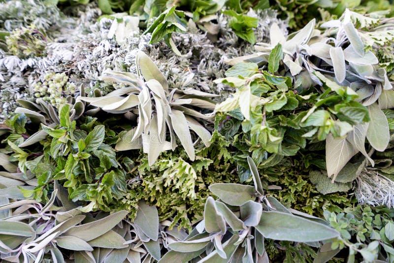 摩洛哥马拉喀什市售鲜香茶 免版税库存照片