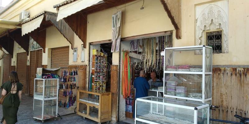 摩洛哥Oujda的Medina 免版税库存照片