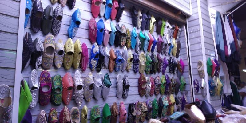 摩洛哥Oujda的Medina 免版税库存图片