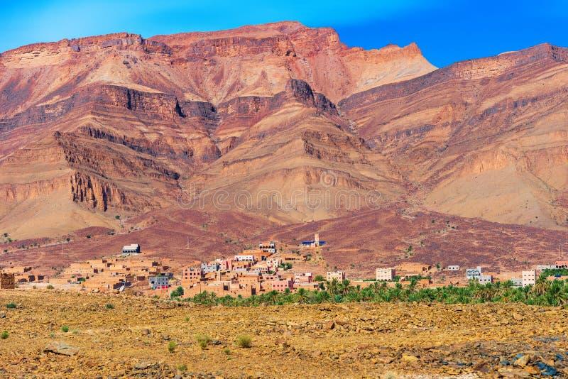 摩洛哥Zagora山景 图库摄影
