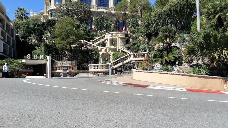 摩纳哥一级方程式赛车奖 库存图片