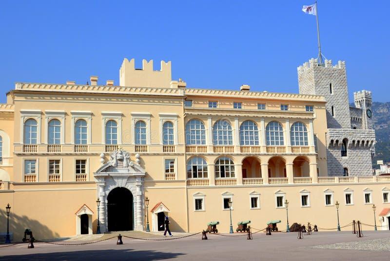 摩纳哥, gouvernment位子的公国  免版税库存图片