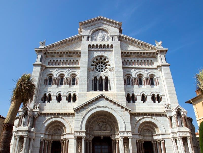 摩纳哥-圣尼古拉斯大教堂 免版税库存照片