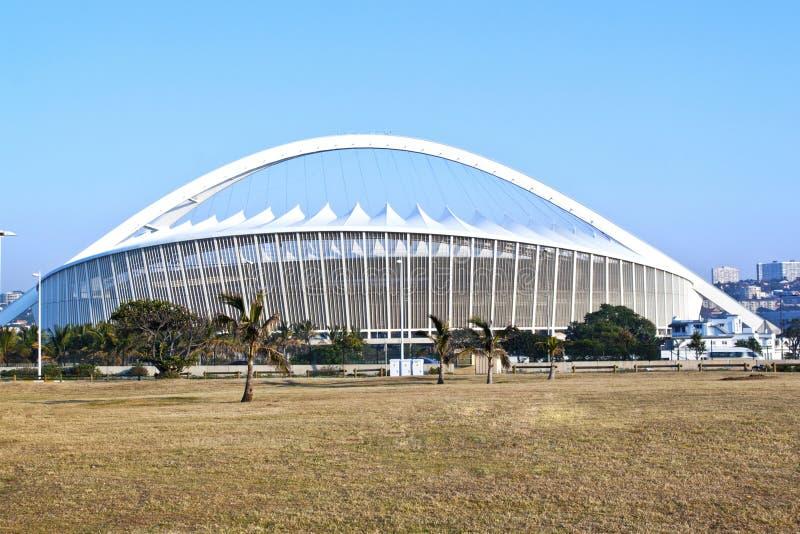 摩西・马布海达体育场在德班南非 库存图片
