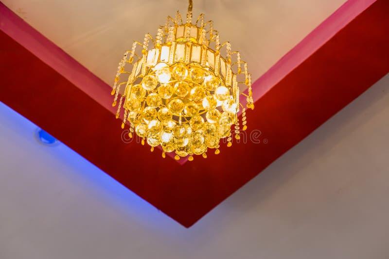摩顿天花板设计想法,天花板背景和纹理 库存图片
