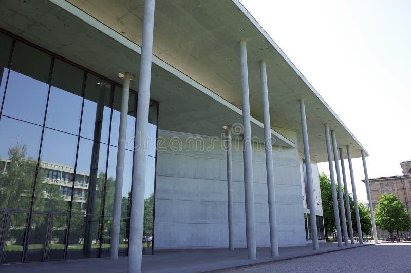 摩登呢Pinakothek的der 免版税图库摄影