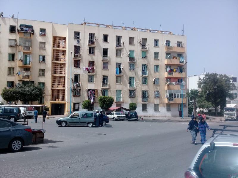 摩洛哥卡萨布兰卡 库存照片