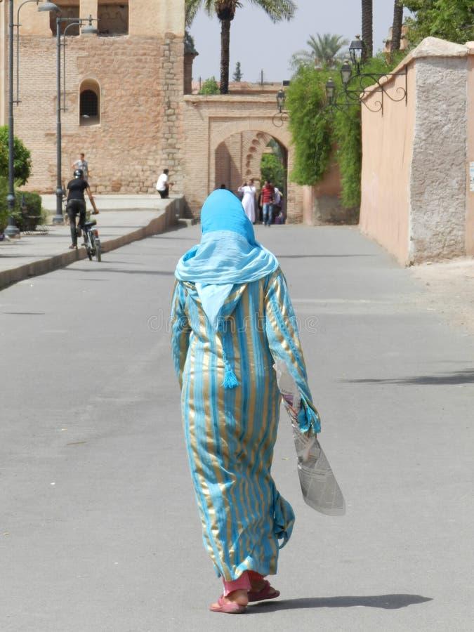 摩洛哥妇女 免版税库存照片
