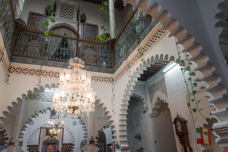 摩洛哥房子的细节 免版税库存图片