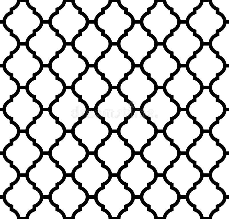 摩洛哥模式 库存例证