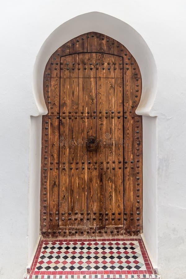摩洛哥门 免版税库存图片