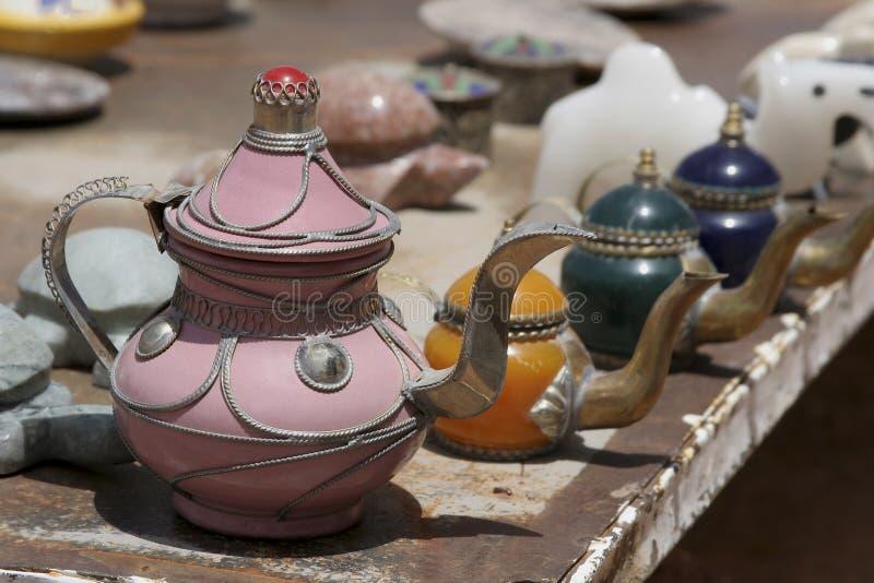 摩洛哥水壶 图库摄影