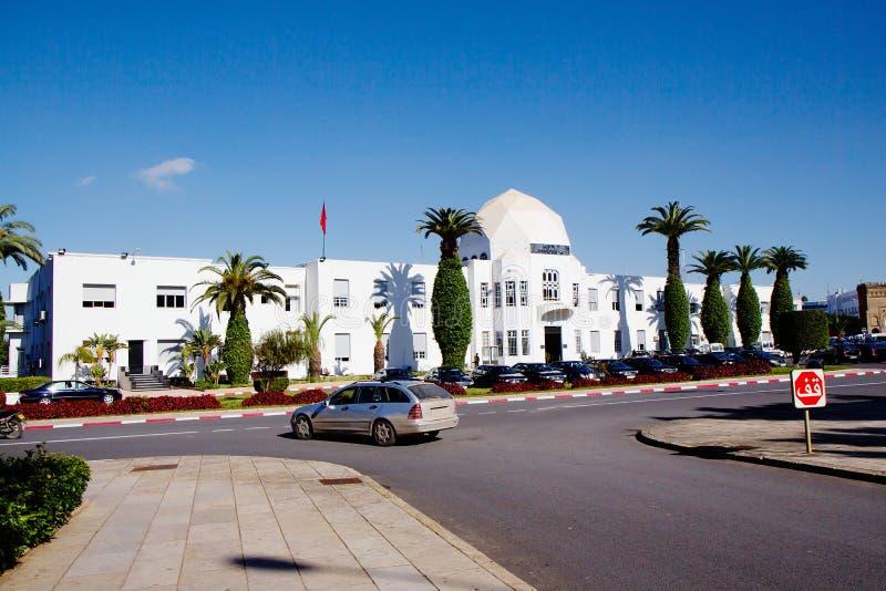 摩洛哥 拉巴特 王宫的地面 免版税库存图片