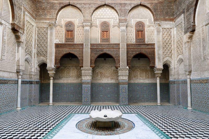 摩洛哥建筑学的例子 免版税图库摄影