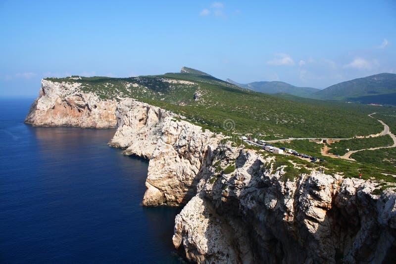 撒丁岛的海岸 免版税库存图片