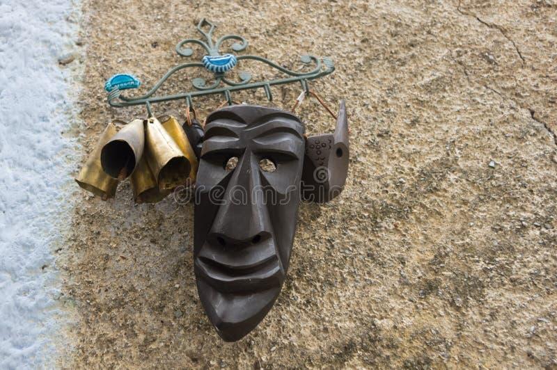 撒丁岛面具 图库摄影