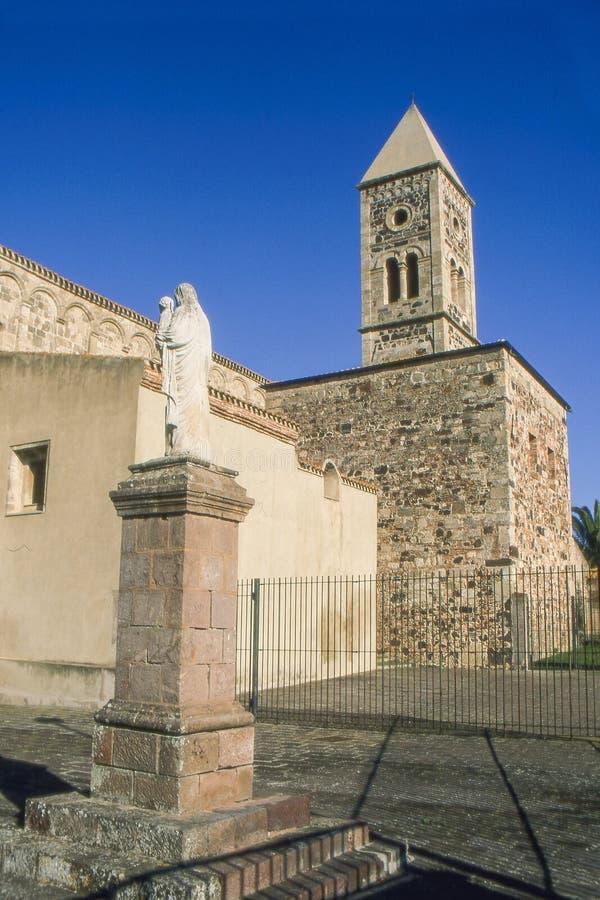 撒丁岛 圣朱斯塔 免版税图库摄影