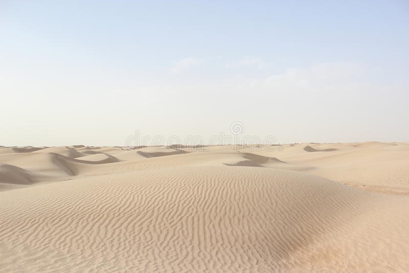撒哈拉大沙漠 库存图片