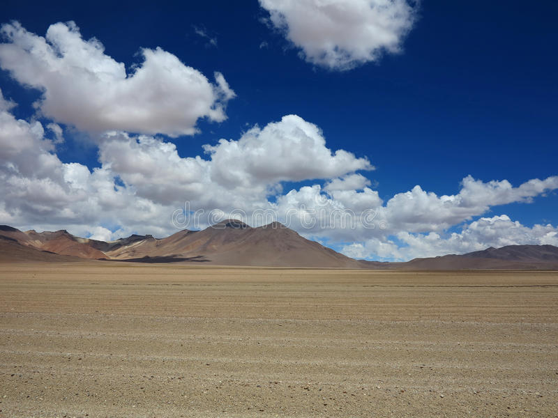 撒拉族de Uyuni玻利维亚 库存照片