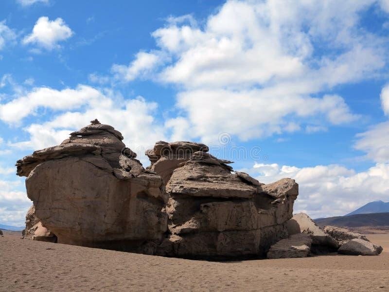 撒拉族de Uyuni玻利维亚 库存图片