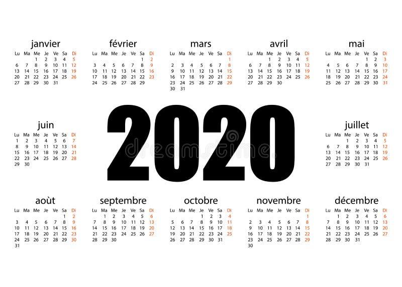 ??2020? 撕掉日历 个人组织者 o r 向量例证