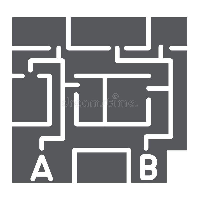 撤离计划纵的沟纹象,撤出和紧急状态,防火梯计划标志,向量图形,在白色的一个坚实样式 向量例证