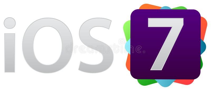 操作系统的苹果计算机 库存例证