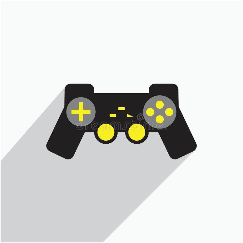 操纵杆比赛控制台象例证 库存例证