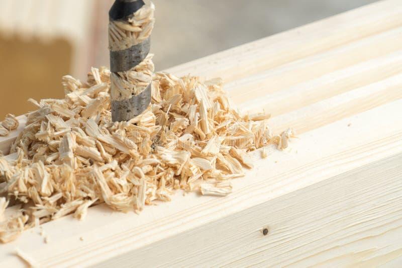 操练木头的人 您的文本的地方 图库摄影