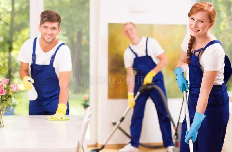 擦净剂用设备 免版税库存图片