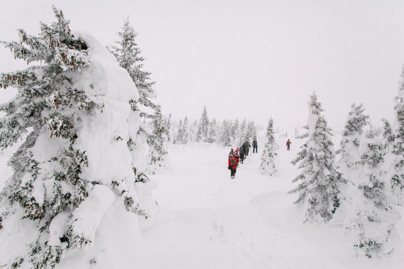 攀登山Zigalga 乌拉尔俄罗斯 库存照片