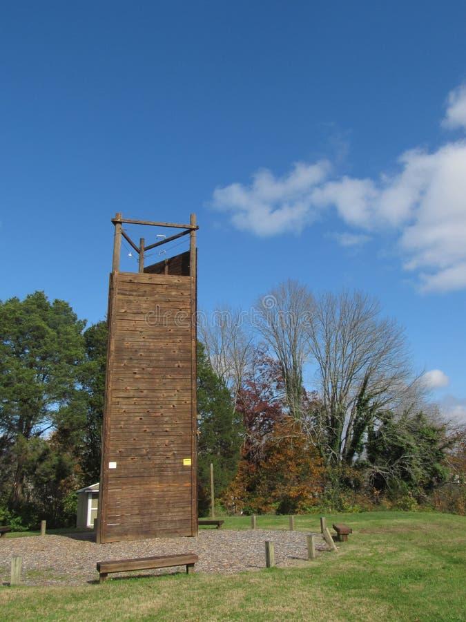 攀登Tower5的橡树岭 库存图片