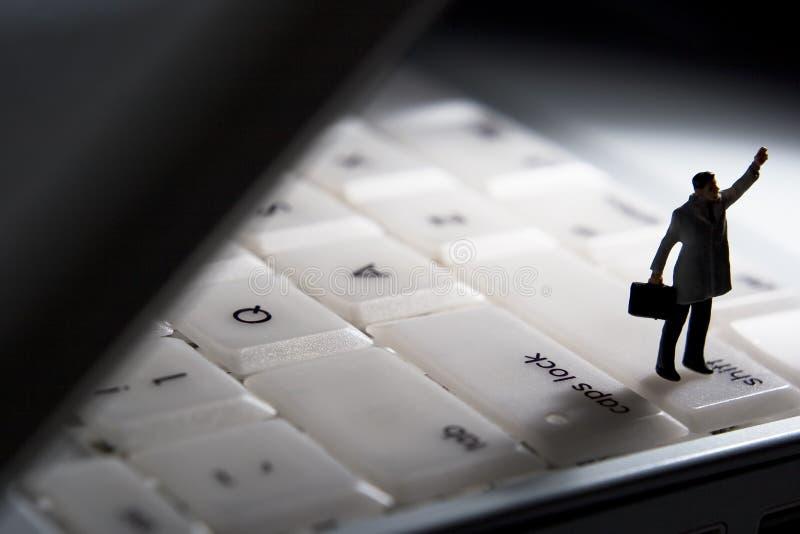 支持技术 免版税库存照片