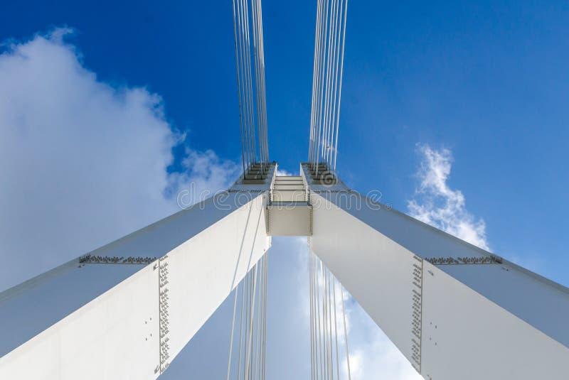 支持桥梁 免版税图库摄影