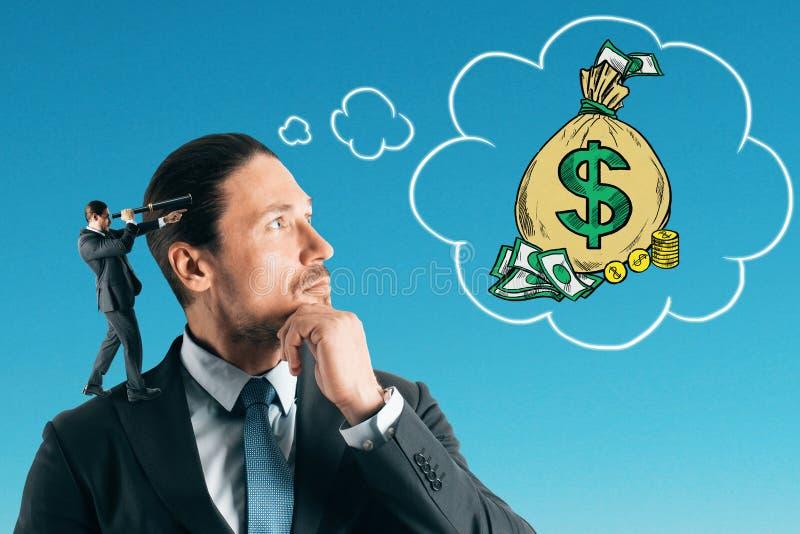 收入和赢利概念 库存照片