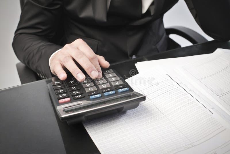 收入回归税务 免版税库存图片