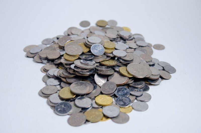 收入现款额和储款 图库摄影