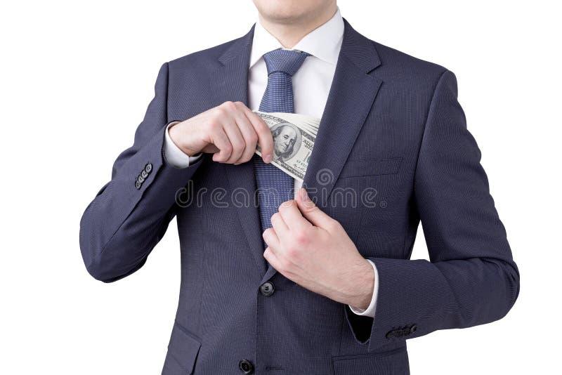 收入金钱 库存图片