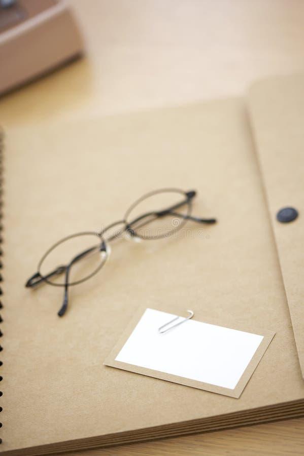 收集办公室 免版税图库摄影