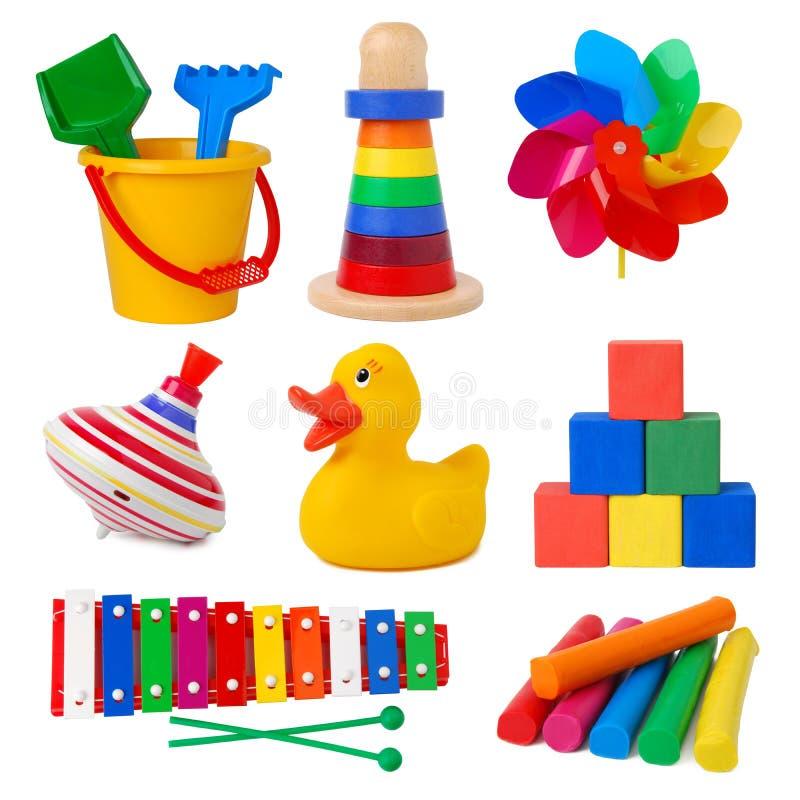 收集玩具 库存图片